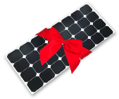 Give the gift of solar light